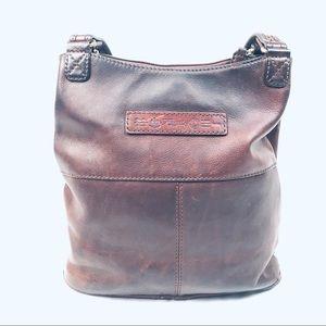 Fossil Leather Handbag/Hobo/Tote